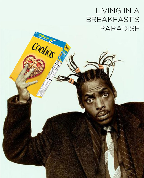 Coolio Coolios Rappers and Cereal