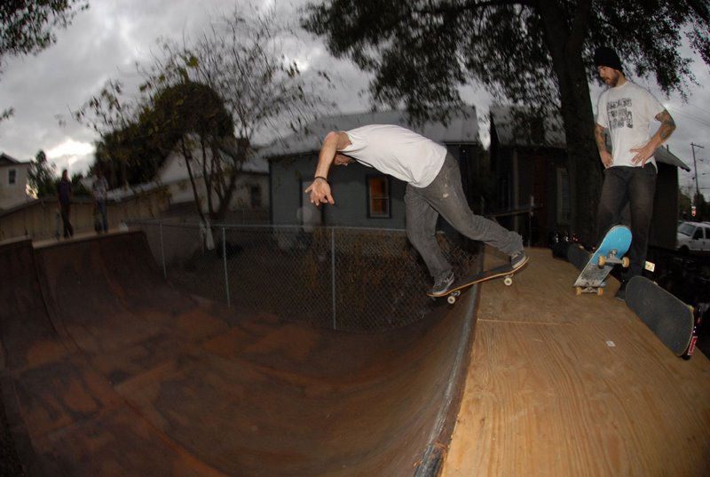 Backyard Mini-Ramp, Tampa, Florida