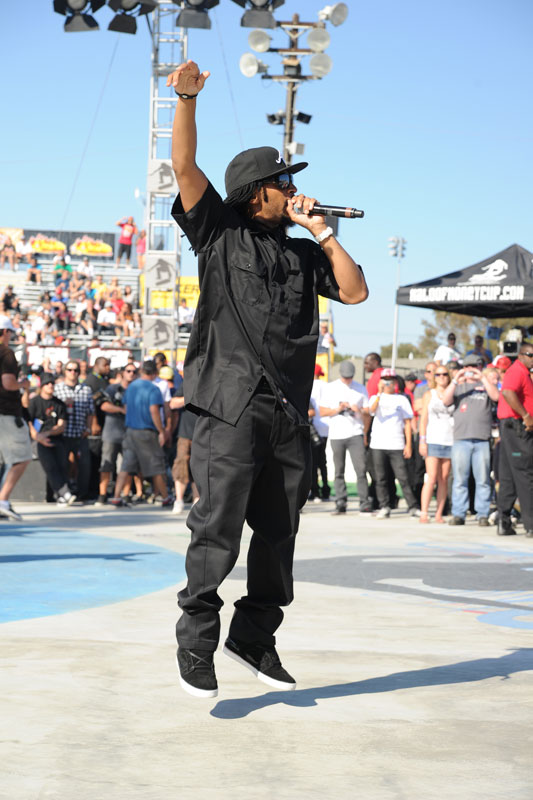 Lil John at Maloof Money Cup in Orange County