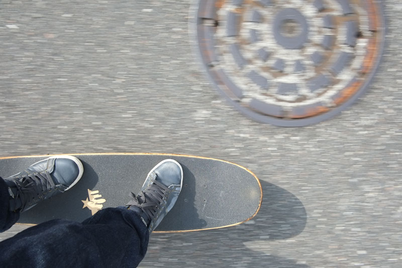 Skateboarding Through Tampa Streets