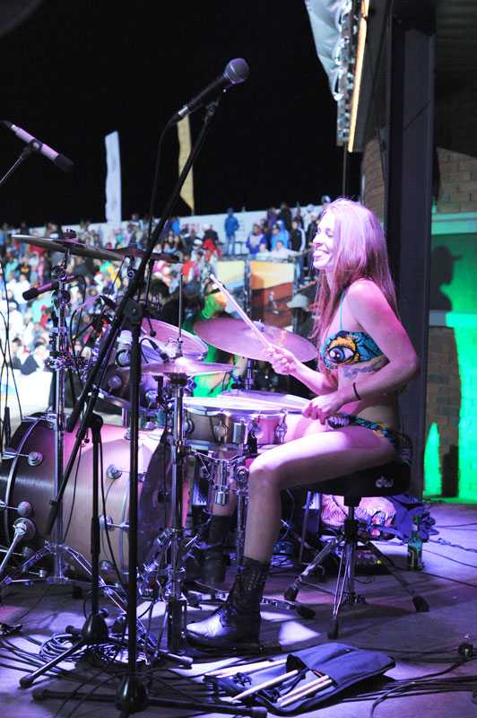 Bikini Drummer in South Africa