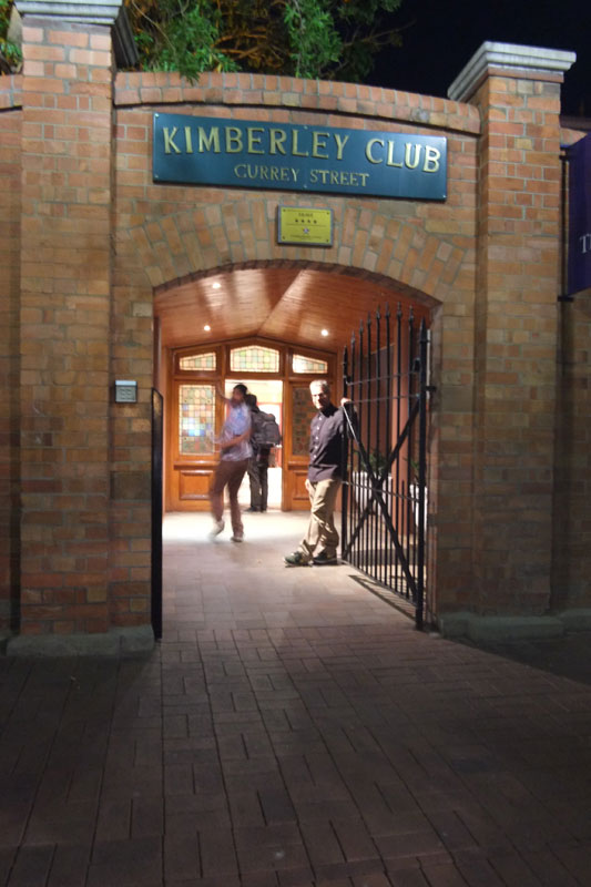 The Kimberley Club in South Africa